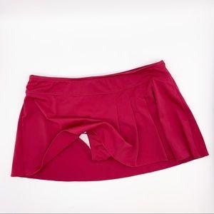 ATHLETA Swim skirt bikini bottoms, S.